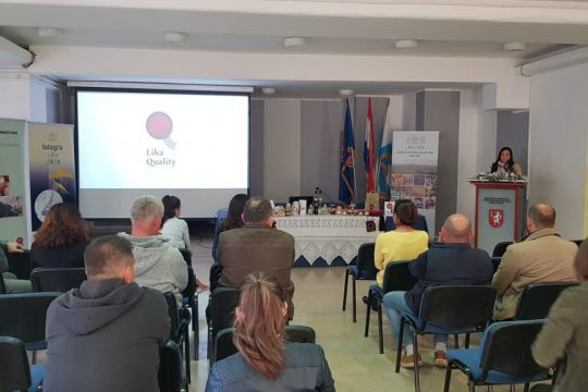 Workshops on inclusion in the Lika Quality system and the development of rural areas were held
