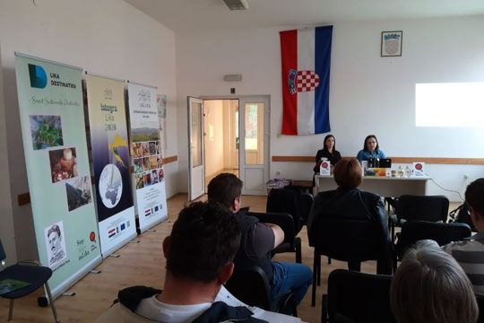 The first two workshops on inclusion in the Lika Quality system and the development of rural areas were held