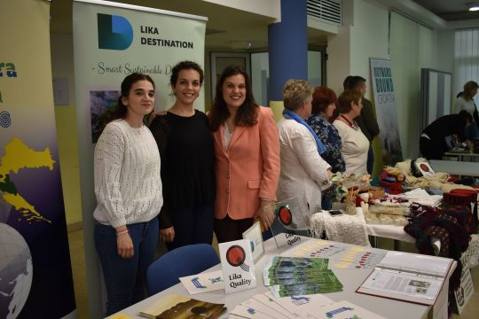The Lika Destination cluster is represented at the 2nd Gospić Association Fair